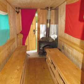 intèrieur sauna