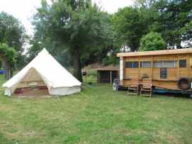tente inuit et sauna